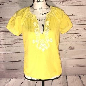 J. Crew Pullover Smocked Top Size XS